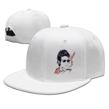 Bob Dylan Awarded Nobel Prize Cool Poster Printed Unisex Adult Womens Hip-hop Caps Mens Hip-hop Hat