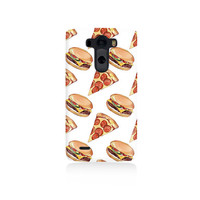 Pizza and Burgers Cover LG G3 Case, LGG3 cover