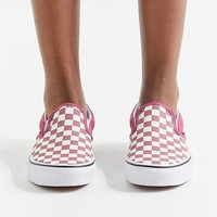 Vans Bright Checkerboard Slip-On Sneaker | Urban Outfitters