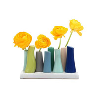8-Pc. Reef Bud Vase in Blue