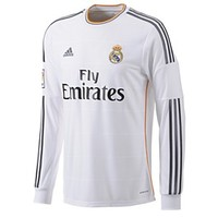 Real Madrid Long Sleeve Home Jersey