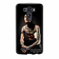 The Dead Are Living Mitch Lucker LG G3 Case