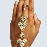 Louise Ethnic Detail Hand Harness