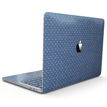 Deep Blue Sea Micro Dots  - MacBook Pro with Touch Bar Skin Kit