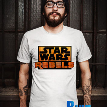 STARWARS REBELS LOGO T-Shirt - Stormtrooper(Star Wars) - Rebels T-Shirt - The Walt Disney Design T-Shirt for Men (Various Color Available)