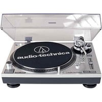 BuyDig.com - Audio-Technica AT-LP120-USB Direct-Drive Professional Turntable - Factory Refurbished - Silver