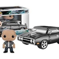 Funko Pop Rides: Fast & Furious - 1970 Charger with Dom Vinyl Figure