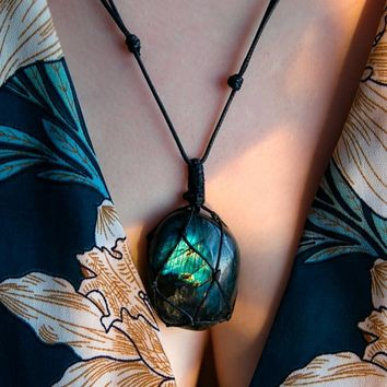 Dragons Heart Pendant Necklace