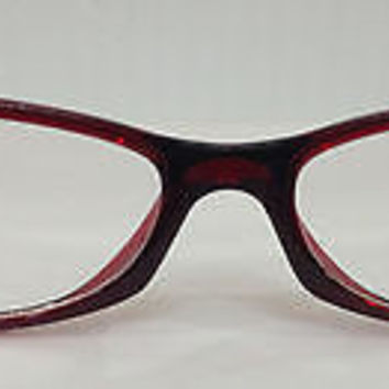 NEW AUTHENTIC SILHOUETTE SPX 1510 COL 6080 RED PLASTIC EYEGLASSES FRAME