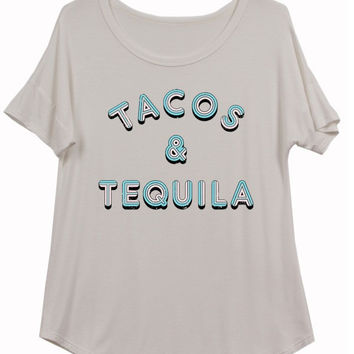 Tacos and Tequila Tee Shirt
