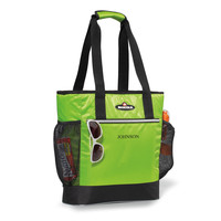 Personlized Green Igloo Cooler Tote