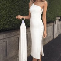 Passion White Dress