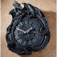 Penhurst Dragon Clock - CL2766 - Design Toscano