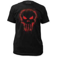 Marvel Comics Punisher Red Logo