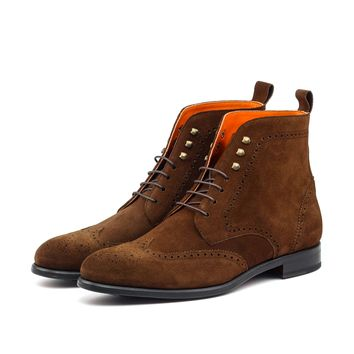 Brown Bomber boot
