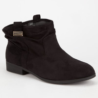 CELEBRITY NYC Margot Womens Slouch Booties | Boots