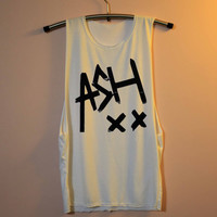Ashton Irwin Shirt 5 Seconds of Summer Shirts Muscle Tee Tank Top TShirt T Shirt Top Women - size S M L