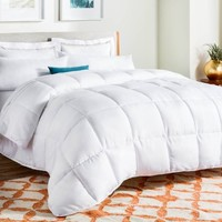 Linenspa All-Season Reversible Down Alternative Microfiber Comforter - Walmart.com