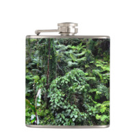 Hawaiian Jungle Hip Flask