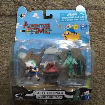 Gladiator Pack Adventure Time Action Figure Sealed in Box Jazwares 2012