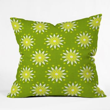 Caroline Okun Citrus Season Throw Pillow