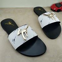 Trendsetter Giuseppe Zanotti Fashion Women And Men Sandal Slipper Shoes