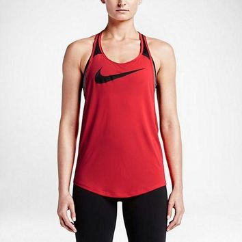 CUPUPSZ Nike Women's Running Tank Tops (Back Breathable Mesh)