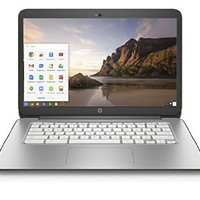 HP J9M84UA#ABA 14-Inch Chromebook (NVIDIA Tegra K1 Processor, 2GB RAM, 16GB SSD, Chrome OS), Snow White - Newest Version