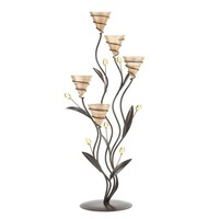 Large Golden Dawn Lily Candleholder