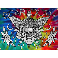 Beartooth - Tie Dye Wall Flag
