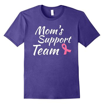 Breast Cancer Shirt Moms Support Team