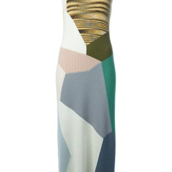 Missoni colour block knitted dress