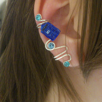 Doctor Who TARDIS Ear Cuff