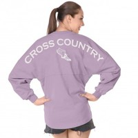 Cross Country - Classic Unisex Long Sleeve, Crew Neck Spirit Jersey®