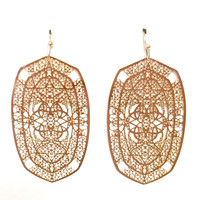 Kalla Gold Earrings