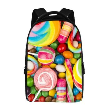 Cake food pattern Backpacks For Teens Computer Bag Fashion School Bags For Primary Schoolbags Fashion Backpack Best Book Bag