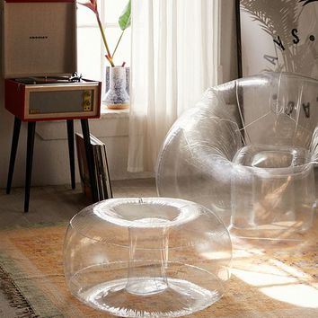 Trixie Inflatable Ottoman | Urban Outfitters