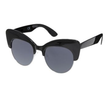 ASOS Chunky Half Cat Eye Sunglasses