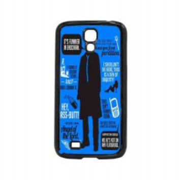 Cas Quotes Supernatural for samsung galaxy s4 case