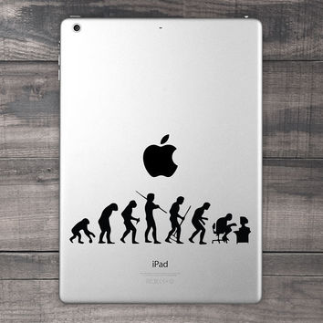 Evolution Gone Wrong iPad Decal