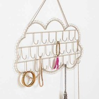 Plum & Bow Hanging Cloud Jewelry Stand- Silver One