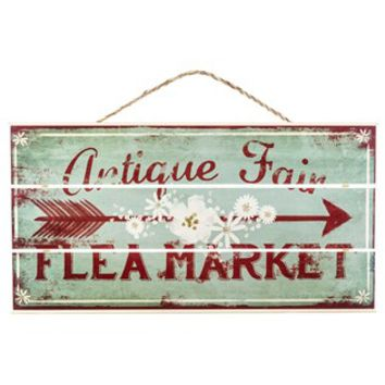 Antique Fair Flea Market Sign | Shop Hobby Lobby