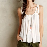 Cut-Out Gauze Tank
