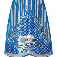 Embroidered Mini Skirt | Moda Operandi