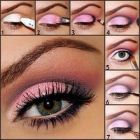 pink makeup ideas - Google Search