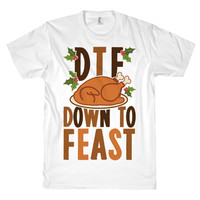 DOWN TO FEAST TEE