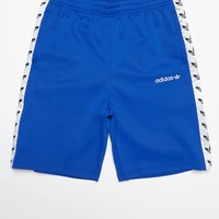 adidas TNT Tape Blue and White Active Drawstring Shorts at PacSun.com