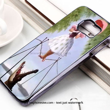 Haunted Mansion Stretching Painting Ballerina Samsung Galaxy S6 and S6 Edge Case