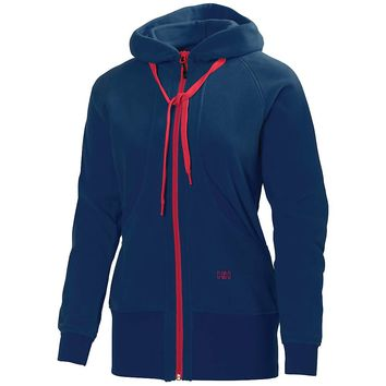 Helly Hansen Early Bird 2 Fleece Jacket - Women's Large - Tech Navy