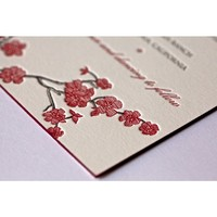 Jennifer&Steven Wedding Invitation - Jennifer & Steven - Letterpress Wedding Invitations & Suites - Wedding
